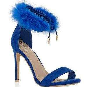 Shoes - Royal blue Heel